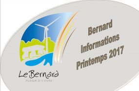 Bernard Informations Printemps 2017