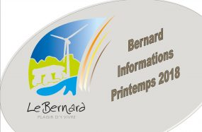 Bernard Informations Printemps 2018