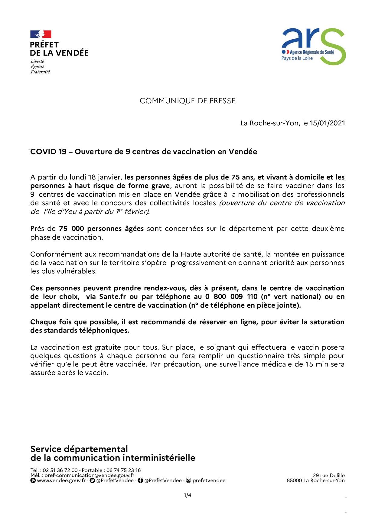 CP COVID 19 - point de situation en Vendée 15-01-2021-page-001
